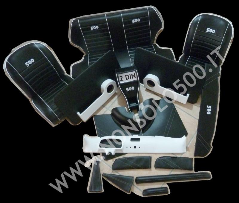 kit tappezzeria sportiva Fiat 500 L D F R Abarth Giannini interni personalizzati ricambi e accessori tuning 500 d'epoca