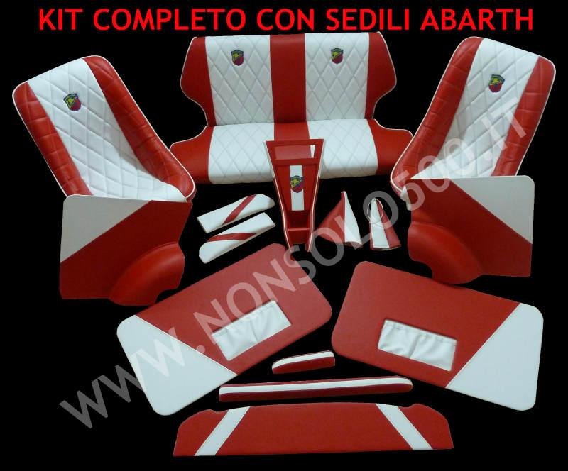 Kit completo tappezzeria e interni personalizzati per for Tappezzeria prezzi