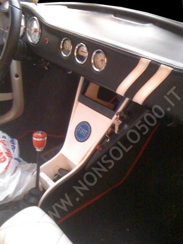 Cruscotto Sportivo Per Fiat 500 D 39 Epoca D F L R Rivestito