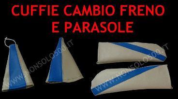 Cuffie cambio e freno + fodere parasole!