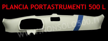 Plancia portastrumenti Fiat 500 L rivestita in sky!